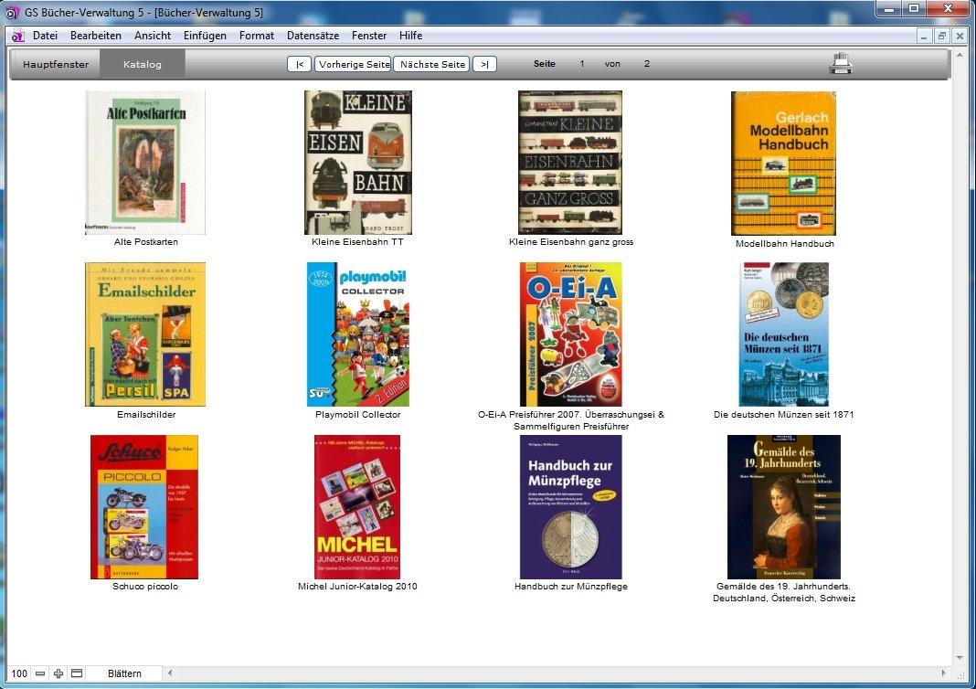 Gs Bücher Verwaltung 5 Software Zur Verwaltung Ihrer