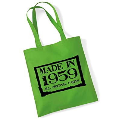 Clothes Shoes Accessories 60th Birthday Gift Bag Tote Mam Shopping Limited Edition 1959 All Original Parts