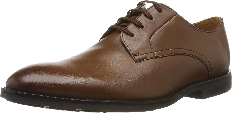 Clarks Ronnie Walk, Zapatos de Cordones Derby para Hombre