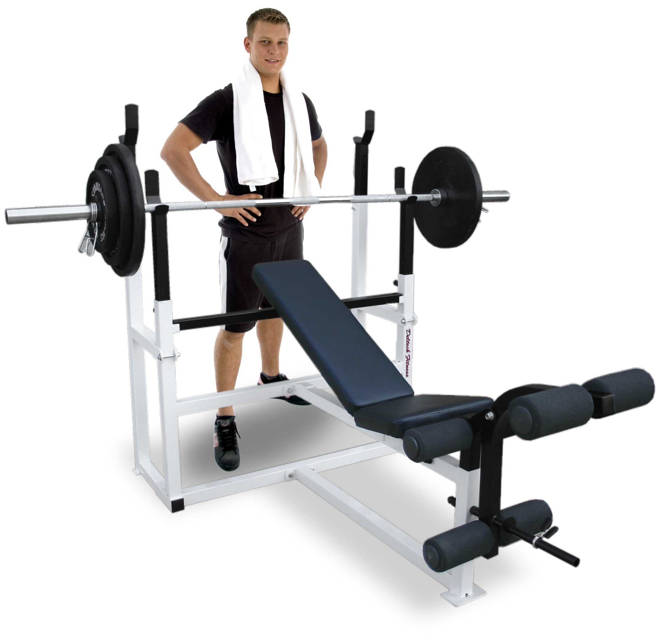 Deltech Fitness Olympic Squat Combo Bench