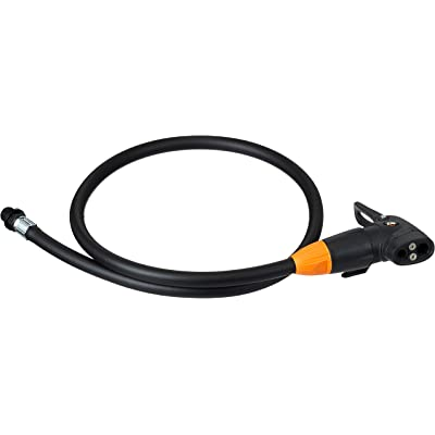 SKS – Cabezal de bomba con manguera Multi Valve cabezal para bomba de aire, color negro, 80 x 2 x 2 cm