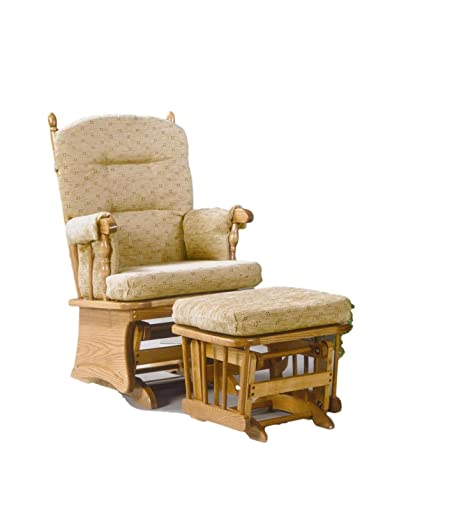 finest selection d6313 c5f81 Amazon.com: Brooks Furniture Mfg 1719 Oak Post Back/Solid ...