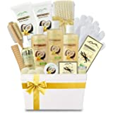 Premium Deluxe Bath & Body Gift Basket. Ultimate Large Natural Spa Basket! #1 Spa Gift Basket for Women & Bath Gift Sets…