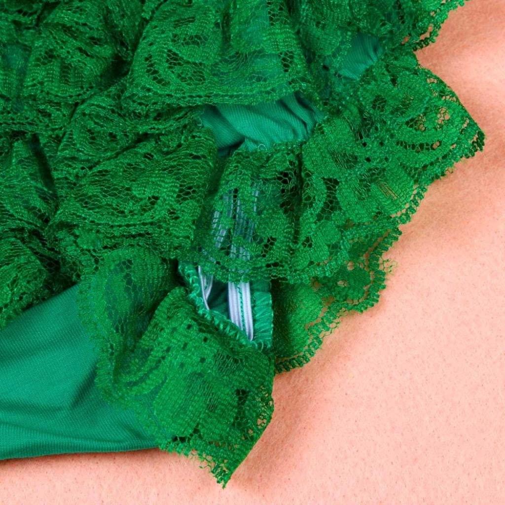 XXYsm Baby M/ädchen Schichten Spitzen Trainerhosen Unterw/äsche H/öschen Solide Lace Kleid R/üsche Hose Pumphose Windel Decken