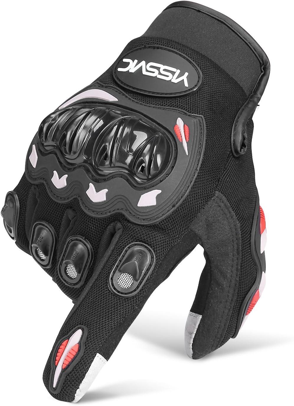 Guanti Sportivi Estivi con Protezione Dita Touchscreen Traspirante per Motociclismo Unigear Guanti Moto Sports Escursionismo Ciclismo Attivit/à all/'Aperto