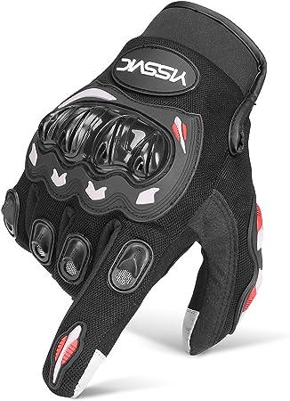 Yissvic Motorrad Handschuhe Motorradhandschuhe Touchscreen Sport Handschuhe Für Motorrad Radfahren Camping Outdoor M Verpackung Mehrweg Auto