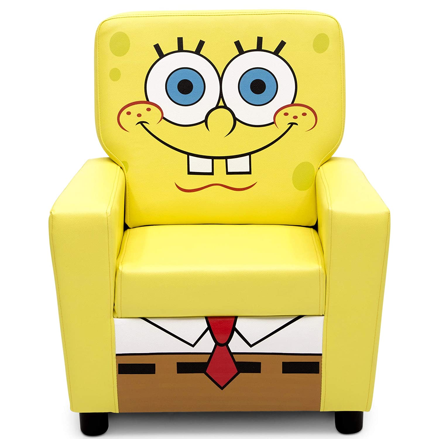 Delta Children High Back Upholstered Chair, SpongeBob SquarePants