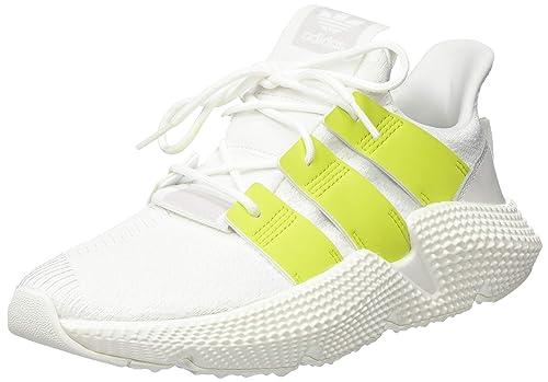 big sale 7fa79 785cf adidas PROPHERE W, Scarpe da Ginnastica Donna, Bianco Ftwr Semi Solar Yellow  Crystal