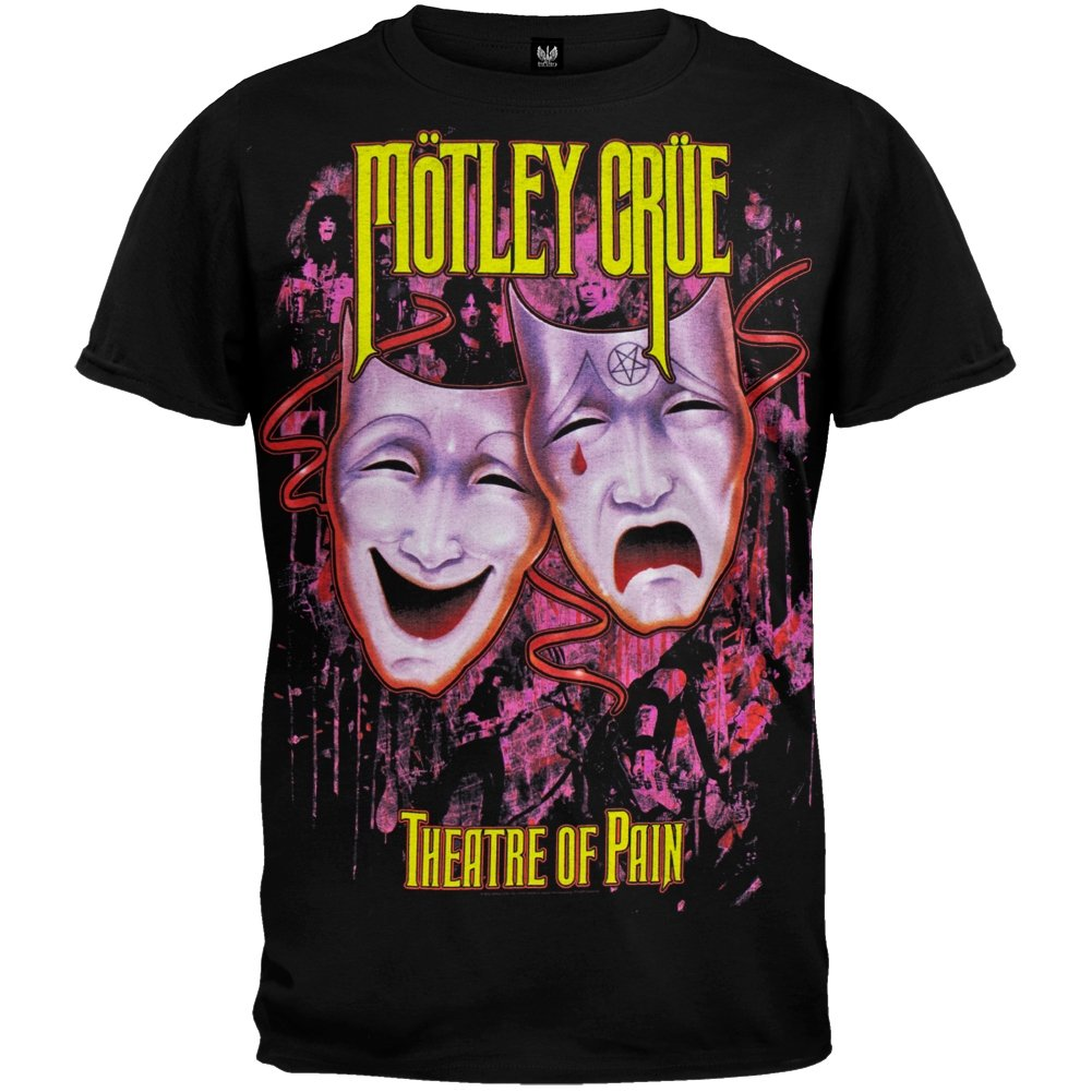 Motley Crue - diseño cartel de teatro de para hombre el ...
