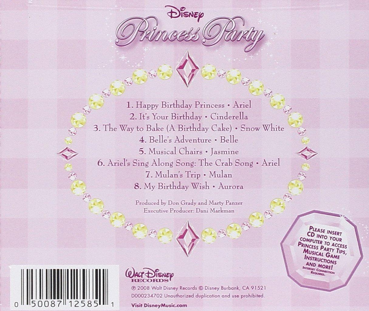 Disney - Disney Princess Party - Amazon.com Music
