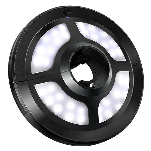 VicTsing Patio Umbrella Light, Cordless 36 LED Night Lights, Umbrella LED  Light, Battery