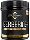 Berberine 1200mg HCL Plus Ceylon Cinnamon