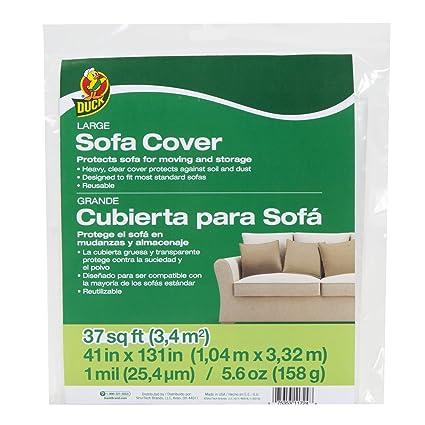 Amazon.com: Duck Brand 1139735 - Funda para sofá (tamaño ...