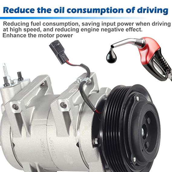 Amazon.com: AUTEX AC Compressor & A/C Clutch CO 11200C 98490 Replacement for 2008 2009 2010 2011 2012 2013 Nissan Rogue 2.5L: Automotive