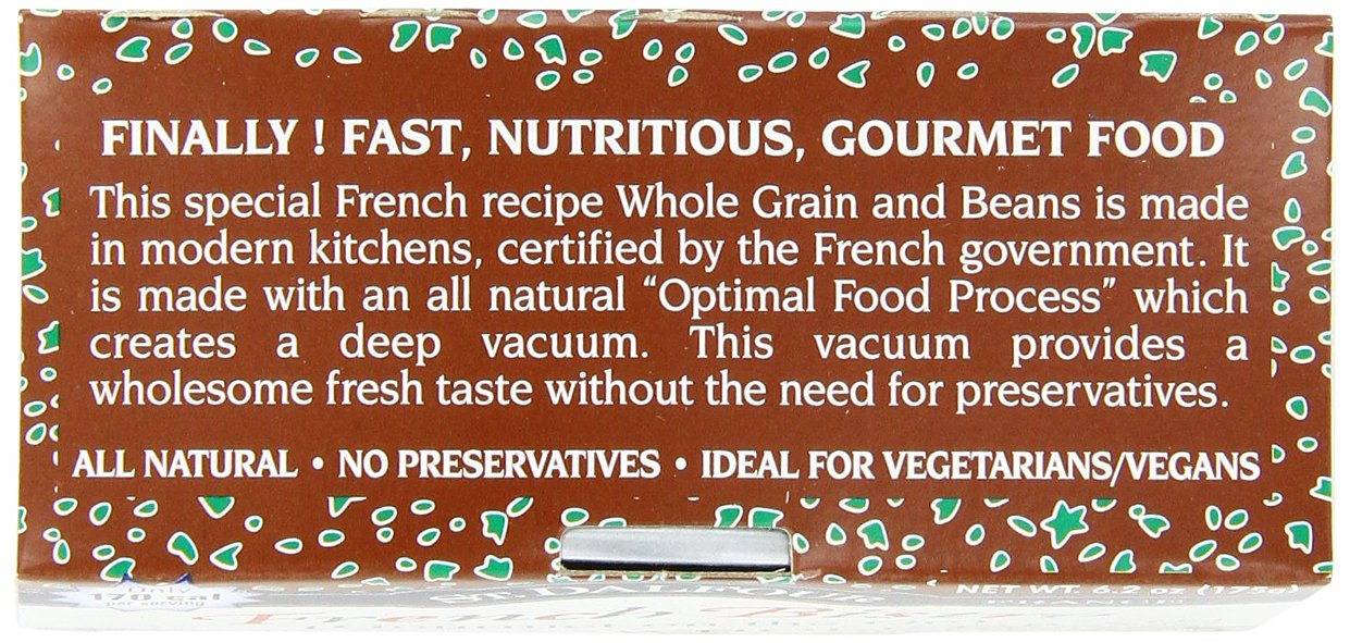 St. Dalfour Gourmet On The Go, Ready to Eat Whole Grain with Beans, 6.2-Ounce (Pack of 6) by St. Dalfour (Image #8)