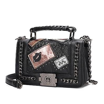 Amazon.com: George Gouge Women Mini Chain Bag Handbags ...