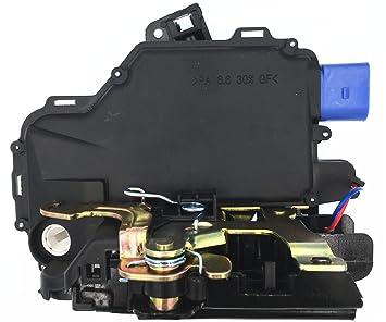 HZTWFC Actuador de Cerradura de Puerta 3B1837016BC - Delantero Derecho 3B1837016CC 5J1837016 6QD837016E 3B1837016AQ: Amazon.es: Coche y moto