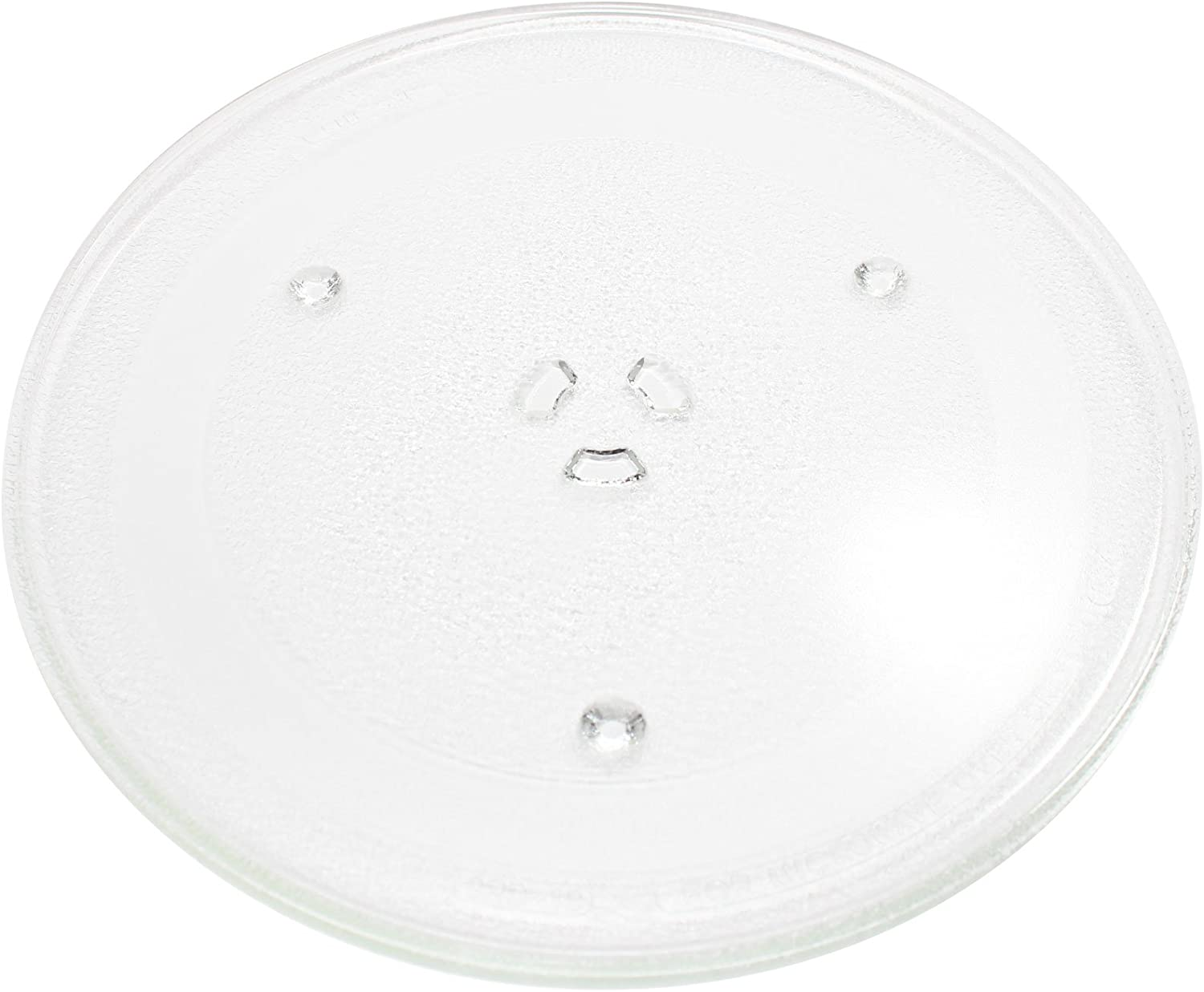 "Replacement for Frigidaire 5304456198 Microwave Glass Plate - Compatible with Frigidaire 5304456198 Microwave Glass Turntable Tray - 12 1/2"" (318mm)"