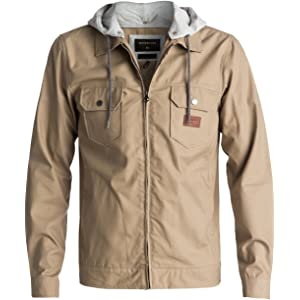9d082a213 Amazon.com: Quiksilver Men's Waikawa Jacket, Black, Small: Clothing
