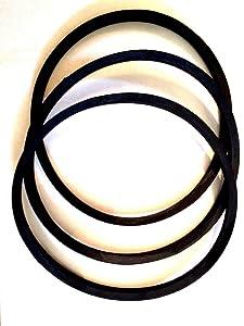 New Replacement Belt Set of 3 Belts for Delta 49-101 Drive Set 1725 RPM Motor