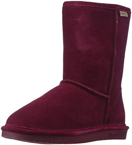 Bearpaw Emma de Las Mujeres Corto Tobillo Botas, Color Morado, Talla 37 1/3: Amazon.es: Zapatos y complementos