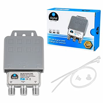 HB de Digital DiSEqC Interruptor Switch con carcasa ...