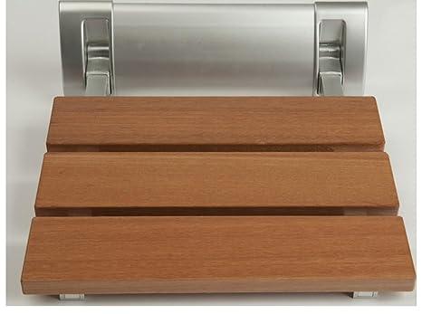 Sedile Doccia Legno : Sedile ribaltabile per doccia da parete sabya legno amazon