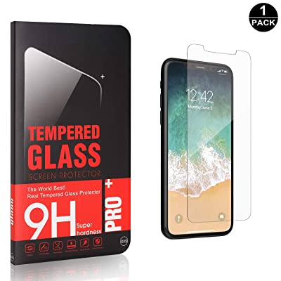 Bear Village Screen Protector for iPhone X/iPhone Xs, Ultra Clear Bubble Free Tempered Glass Screen Protector Film for iPhone X/iPhone Xs, 1 Pack: Baby