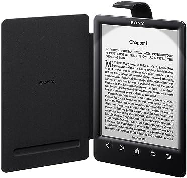 Sony PRSACL30B - Funda para ebook PRS-T3 (cubierta con luz), negro ...