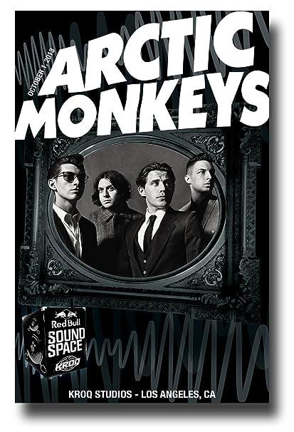 Amazon.com  Arctic Monkeys Poster Concert Promo 11 x 17 inches LA ... 01a84d1577b79