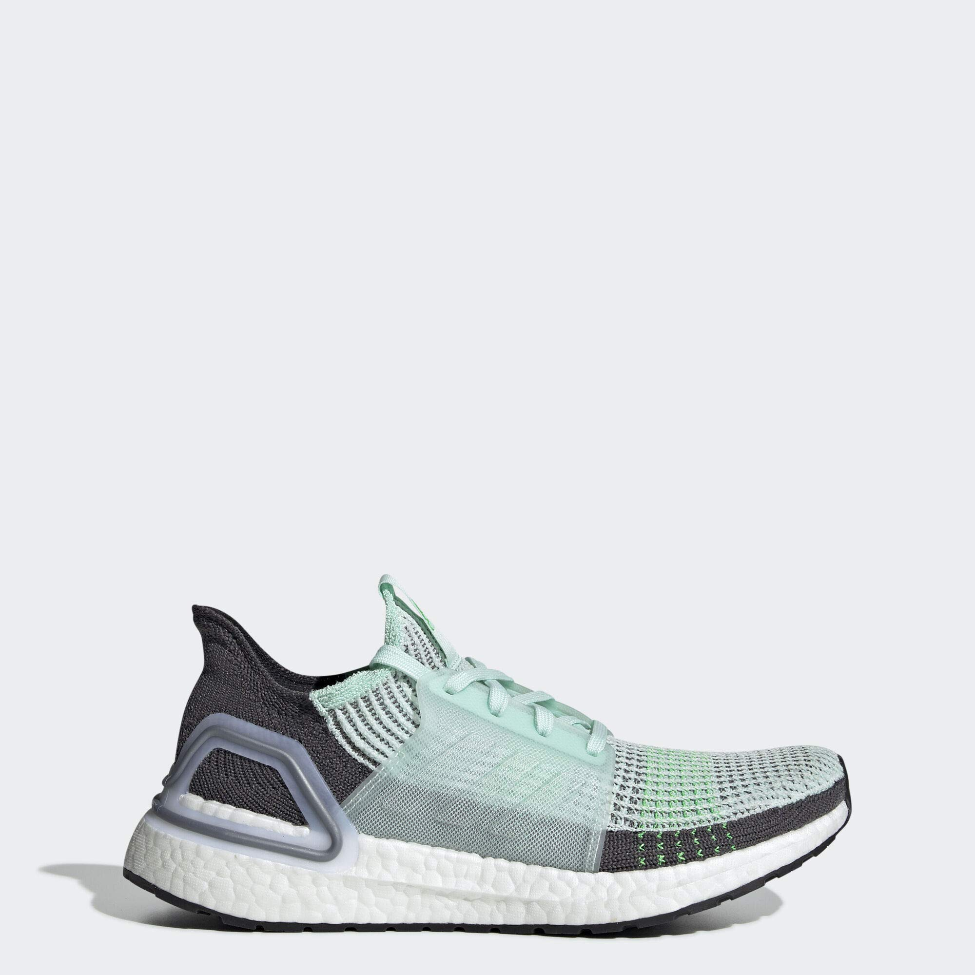 adidas Women's UltraBOOST 19, Ice Mint/Grey, 11.5 M US by adidas