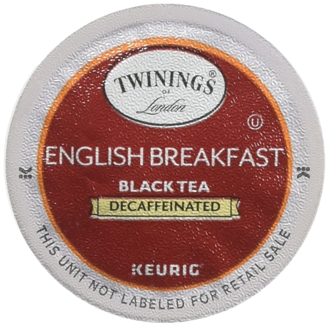 Twinings English Breakfast Decaf Tea K-Cups 96ct by Twinings