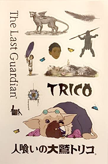 The last guardian collectors edition sticker pack