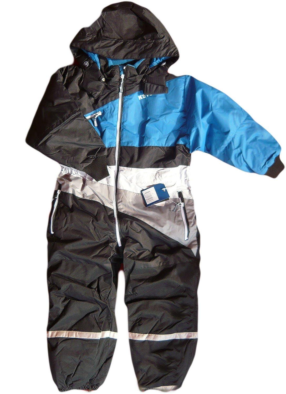 Ketch. Funktioneler Overall Alpine. Ski-Anzug. Cordura HemiProof 130203-8, schwarz/blau