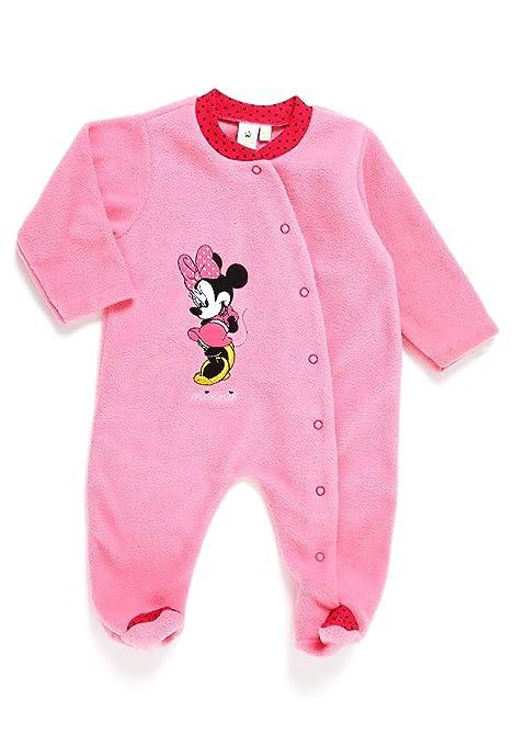 venta de tienda outlet bastante baratas Zapatillas 2018 Disney Baby Mameluco Polar Minnie Disney Mameluco para Niñas Rosa Talla 0-3  meses