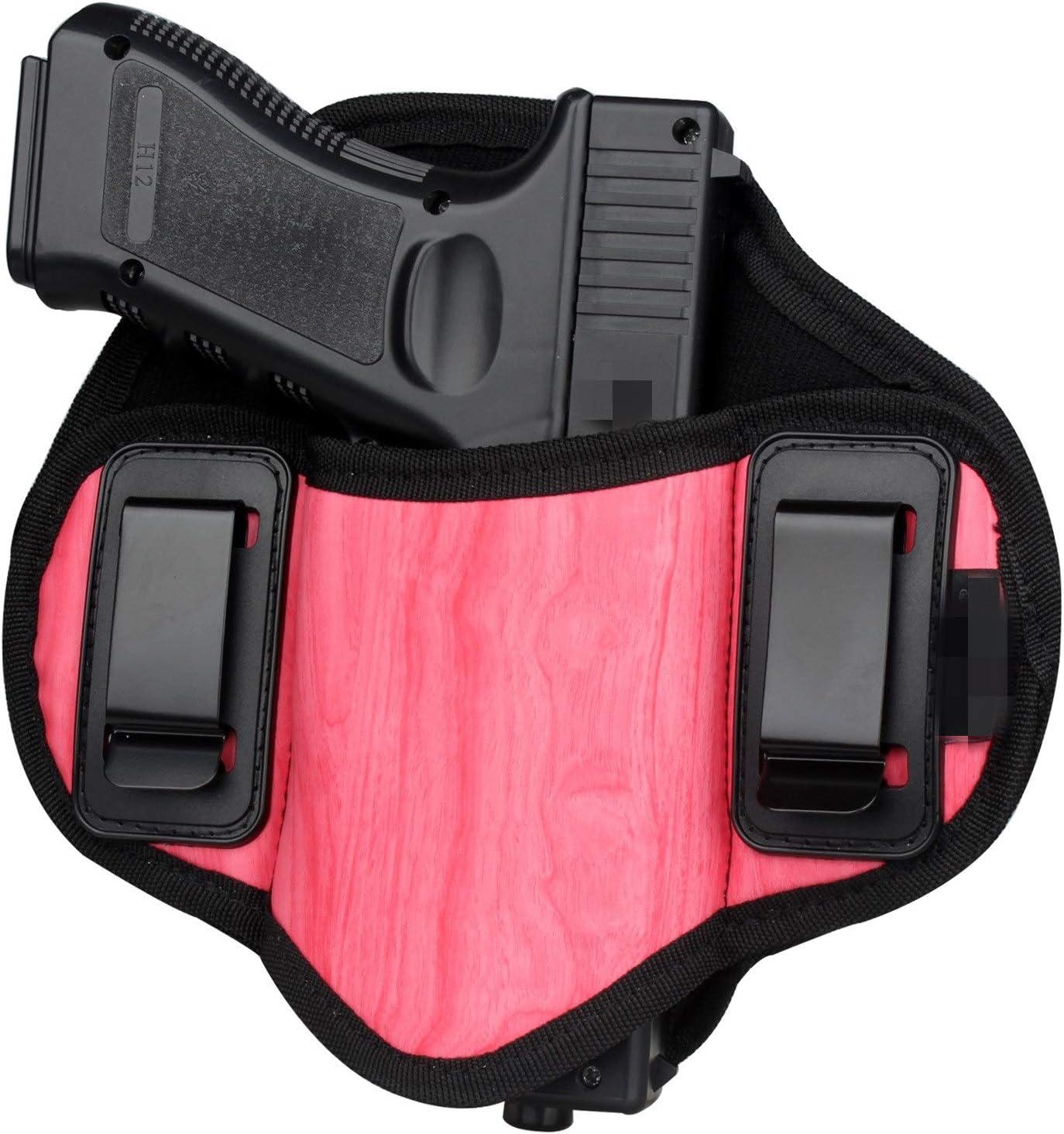 LiQinKeJi8 Cómodo Pistola táctica Holster Ocultas Cintas de Calle Cinturón Cinturón Metadero Airsoft Pistola Bolsa Herramienta de Funda