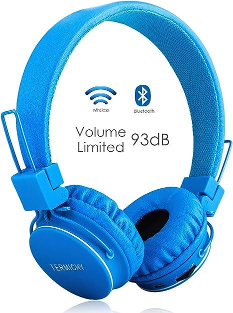 Volume Limited Wireless Bluetooth Kids Headphones Amazon Co Uk Electronics