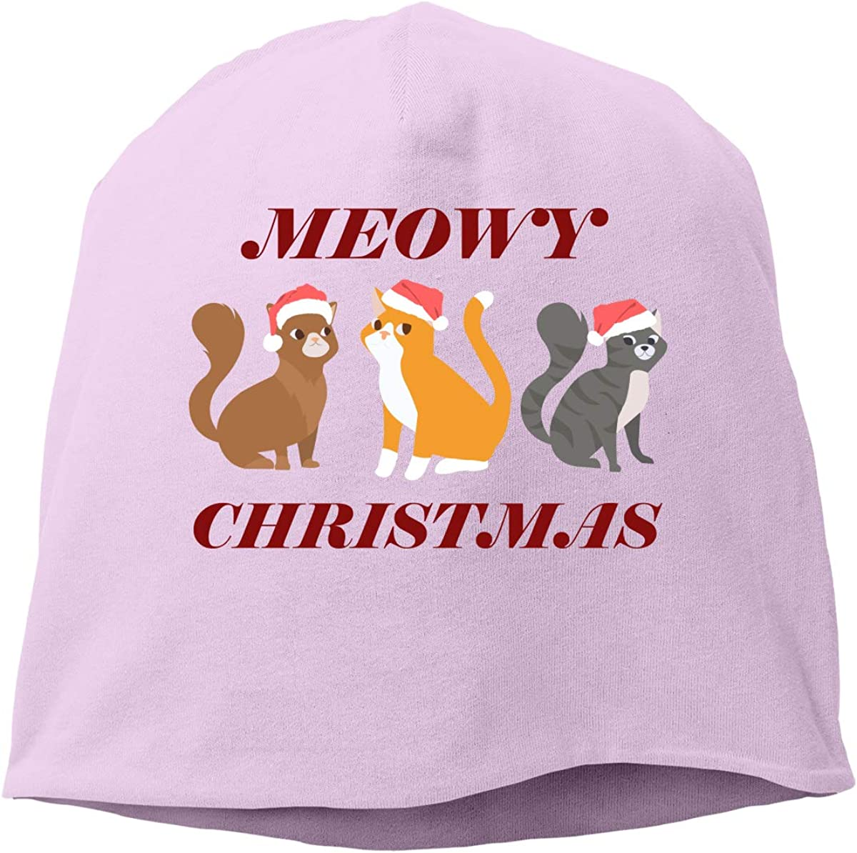 Aidear Meowy Christmas聽 Fashion Chrismas Knitted Hat Fashion Funny Cotton Hat