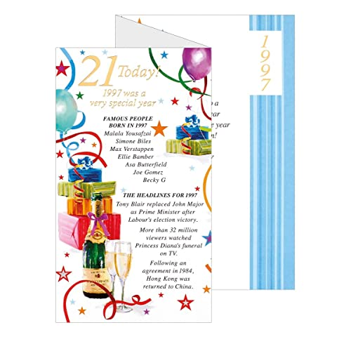 21st Birthday Cards For Him Amazon
