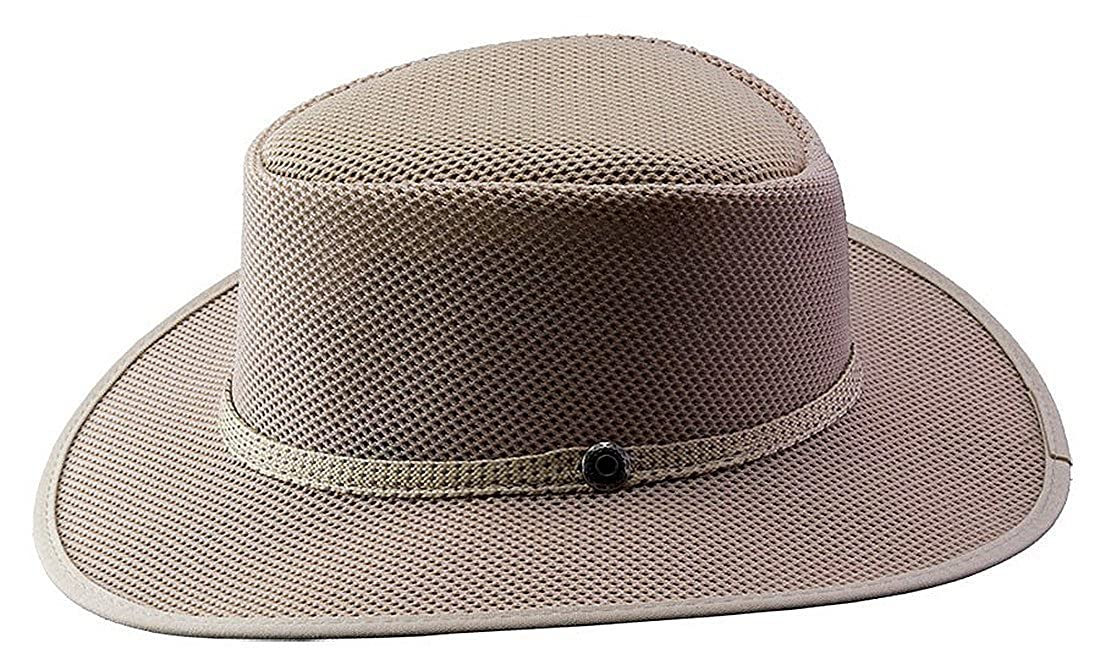 58aa99f8 Head 'N Home Handmade Hats - Solair Brand Cabana Ivory Breathable Mesh Sun  Hat (Medium, Ivory) at Amazon Men's Clothing store:
