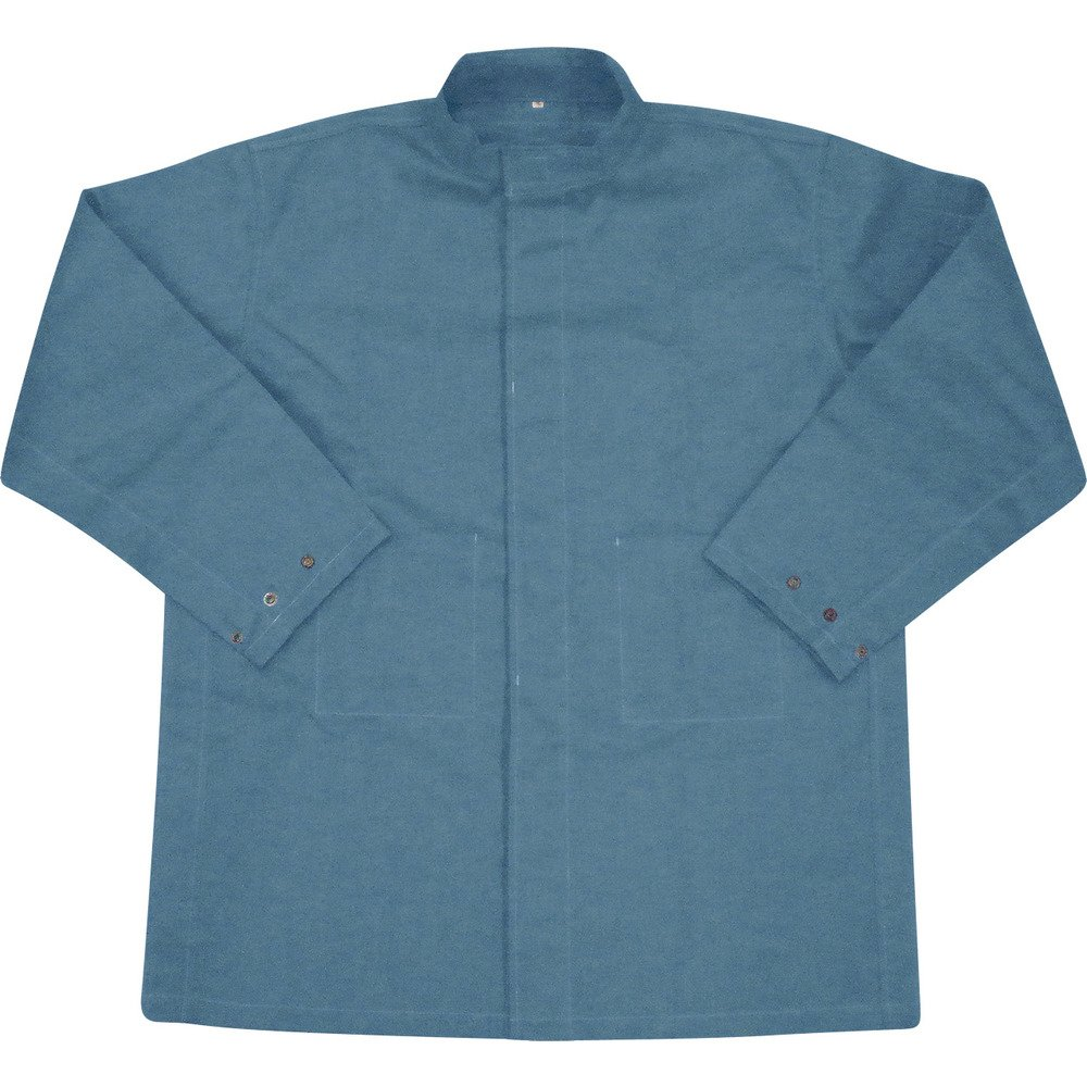 吉野 ハイブリッド(耐熱耐切創)作業服 上着 ネイビーブルー YS-PW1BXL 耐熱ジャケット B0795CV4PK