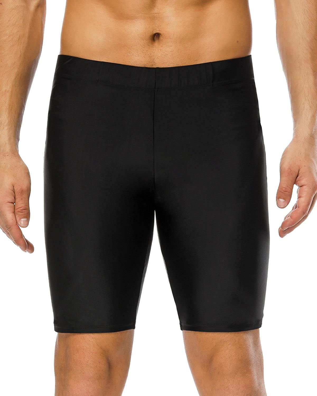 Sociala Swim Jammers for Men Athletic Swimwear Jammer Swimsuit Bathing Suits