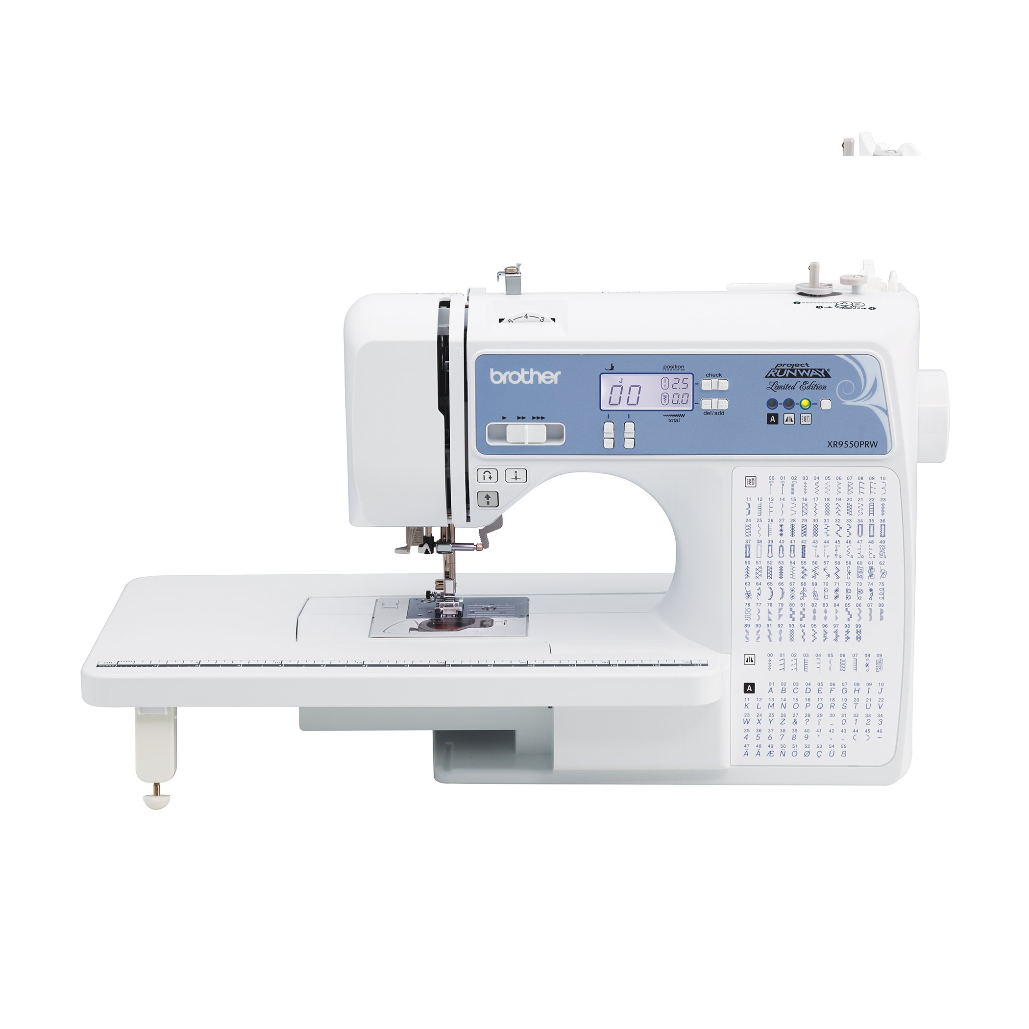 Best Rated In Sewing Machines Helpful Customer Reviews Singer 99 K Machine Threading Diagram Brother Computerized Xr9550prw Project Runway Limited Edition 110 Built