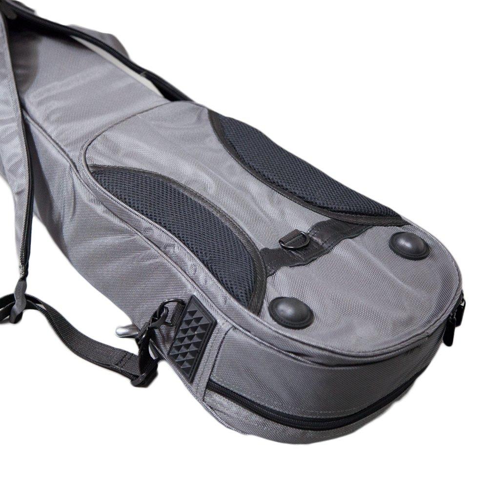 Paititi S/&L Triangular Full Size Violin Soft Bag Lightweight Backpack Style Black
