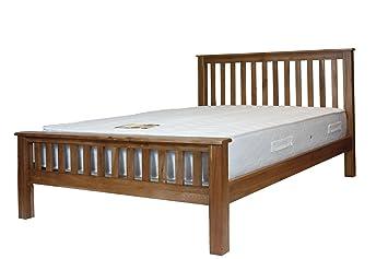 rustic oak 5 king size bed frame