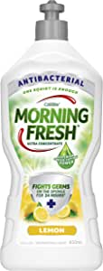 Morning Fresh Antibacterial Lemon Dishwashing Liquid, Lemon 650 milliliters