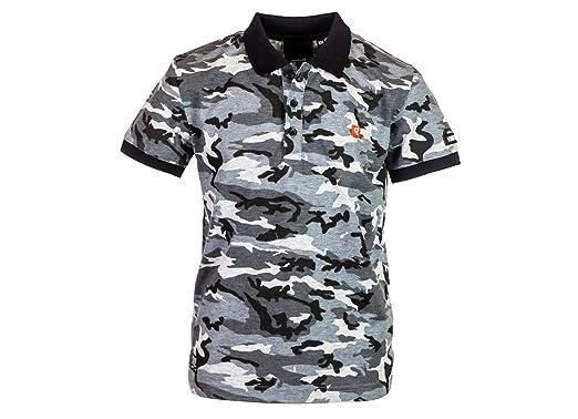 Redskins Cabernet, Polo para Niños, Negro Black Camouflage, 16 ...