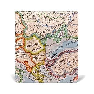 Deziro mappa Europa Book Covers Fits Hardcover Textbooks fino a 9x 11in