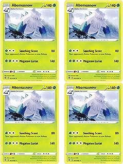 product image for Pokemon - Abomasnow - Rebel Clash x4 Card Playset - 13/192 Rare