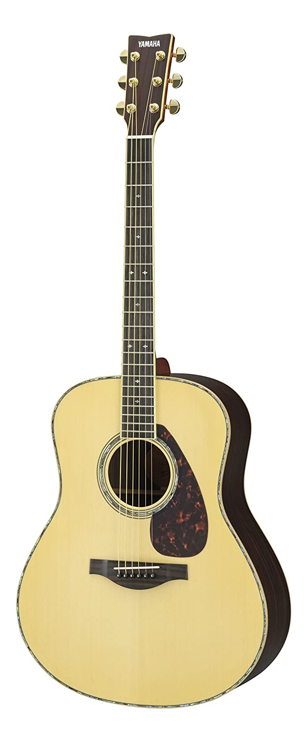 Amazon.com: Yamaha LL16RDHC Solid Spruce/Rosewood Acoustic Guitar, Natural:  Musical Instruments